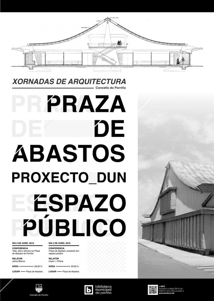 Cartel Xornadas de Arquitectura do Porriño
