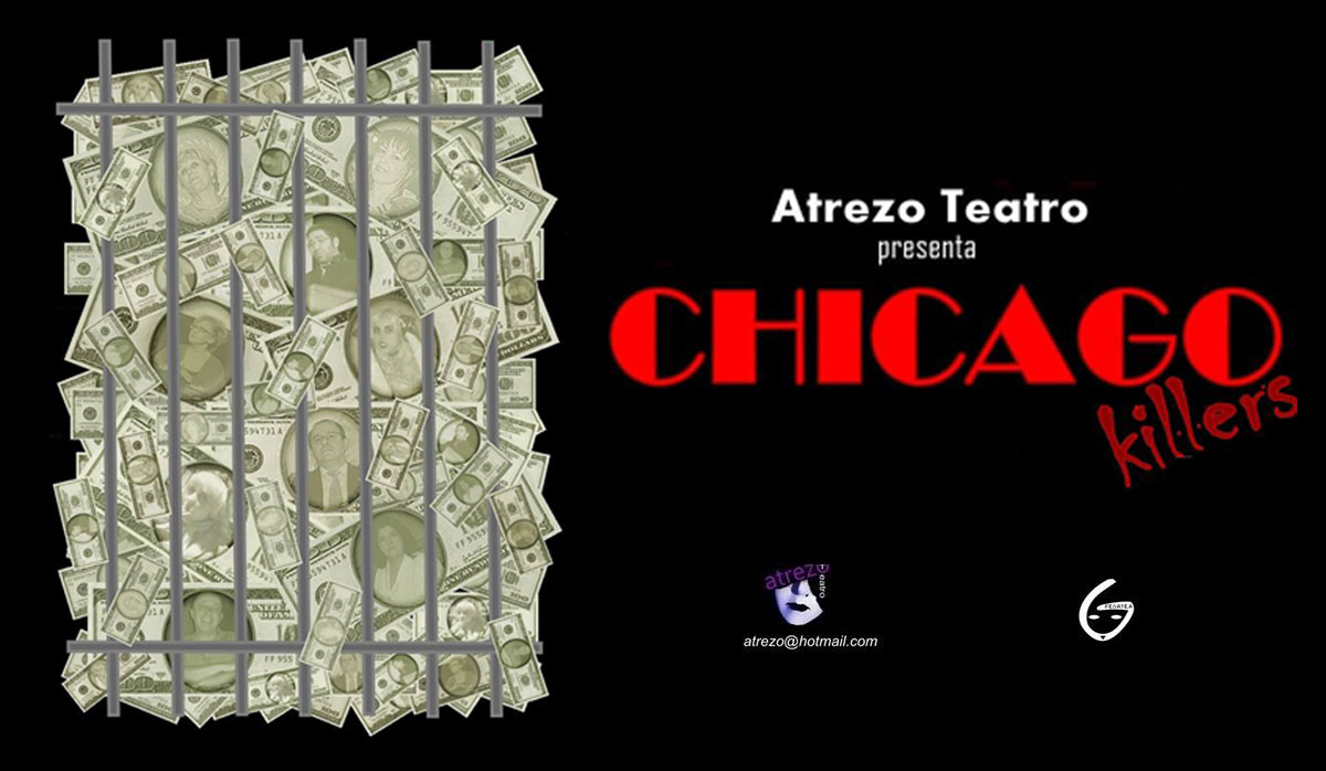 Chicago Killers Atrezo Teatro
