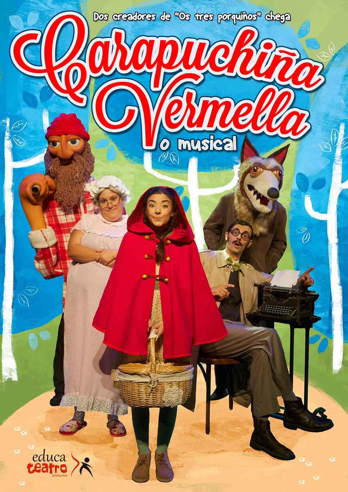 "Teatro infantil: ""Carapuchiña Vermella"""