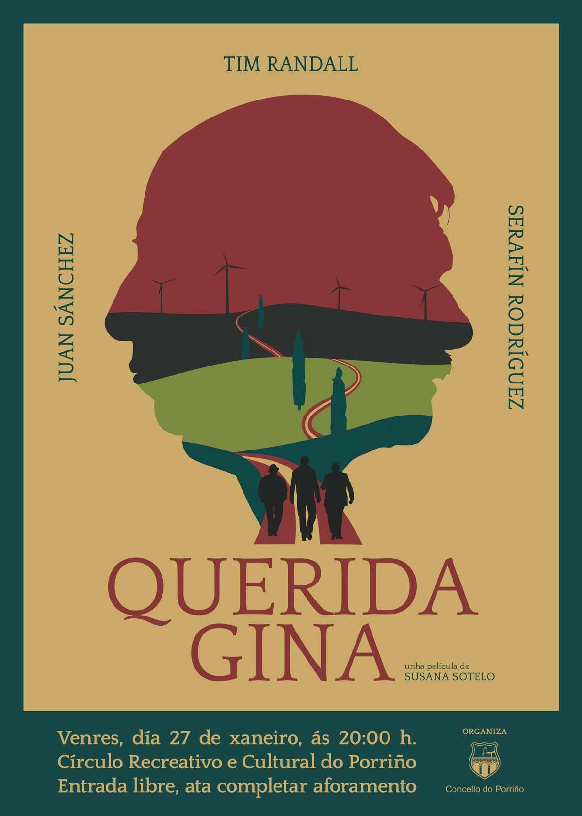 Cartel Querida Gina