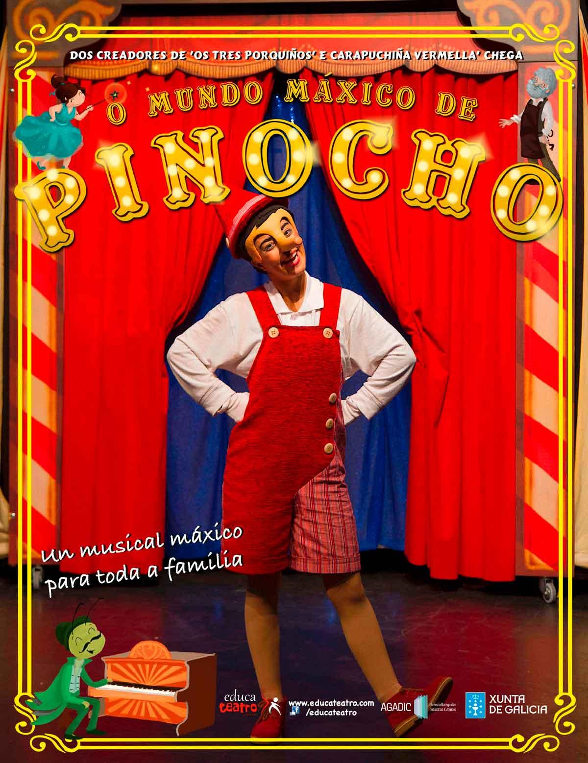 O mundo máxico de Pinocho