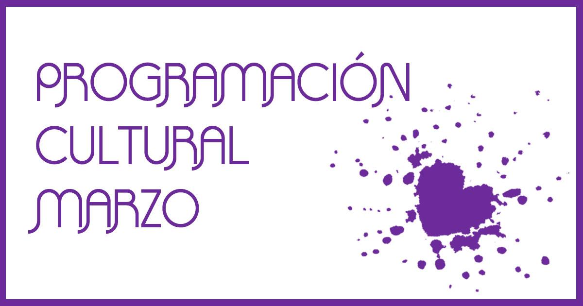 imagen web programación cultural MARZO