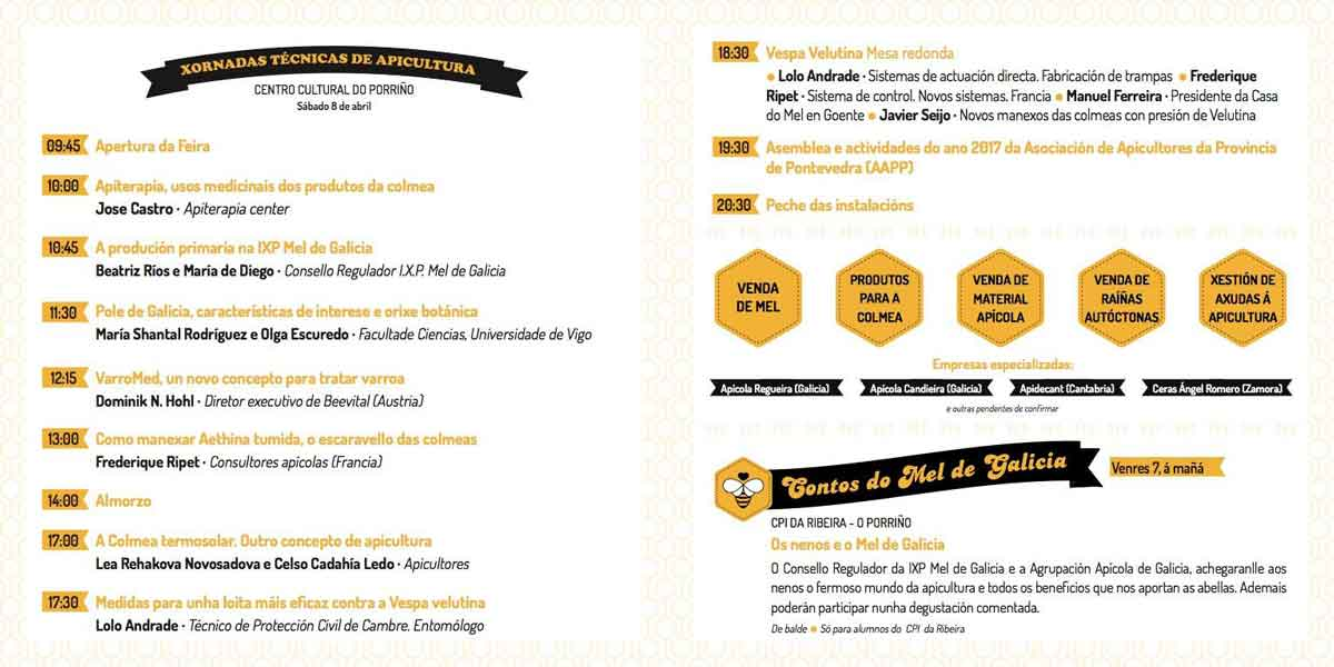 Programa Feira Apícola 2017