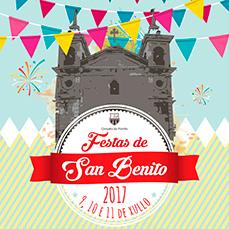 Programa Festas de San Benito 2017