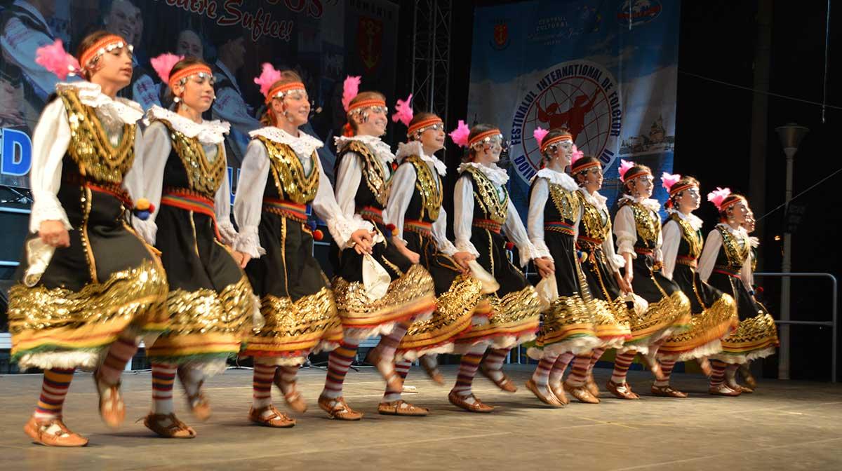 Lódz. Festival Folclórico Internacional do Porriño