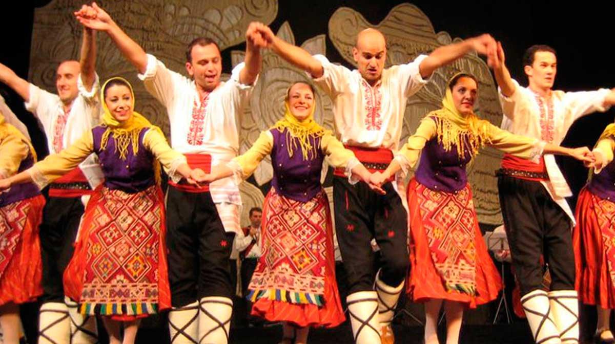 Zornitsa. Festival Folclórico Internacional do Porriño