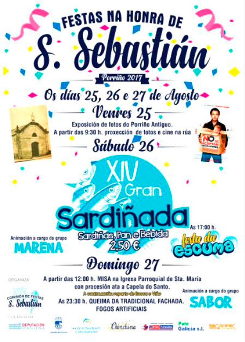 Cartel Festas de San Sebastián 2017