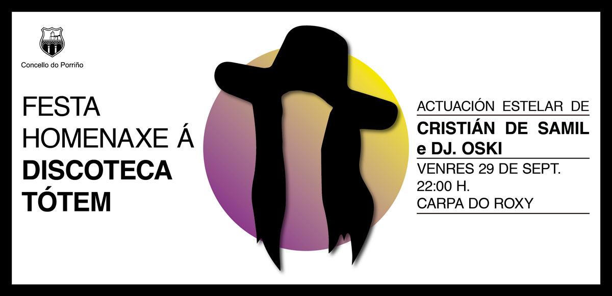 Festa homenaxe a Discoteca Tótem