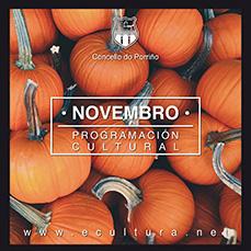 Programación cultural de novembro. O Porriño