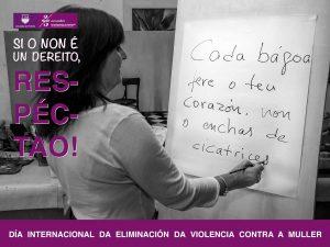 Día Internacional da Eliminación da Violencia Contra a Muller 2017