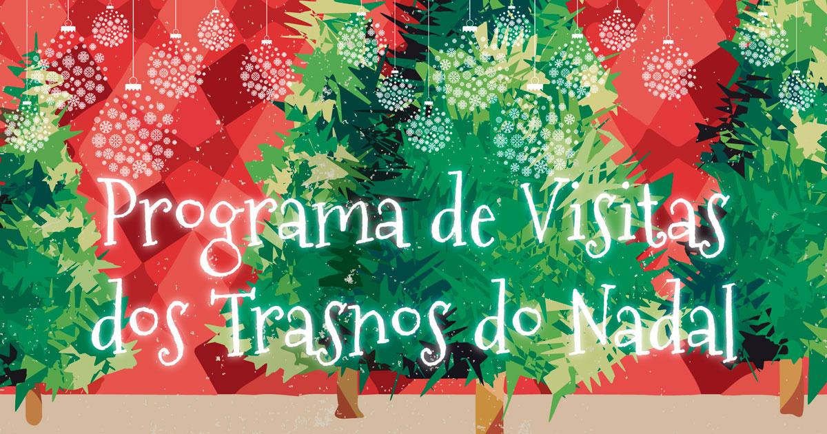 Programa de visitaas dos Trasnos do Nadal ao Porriño