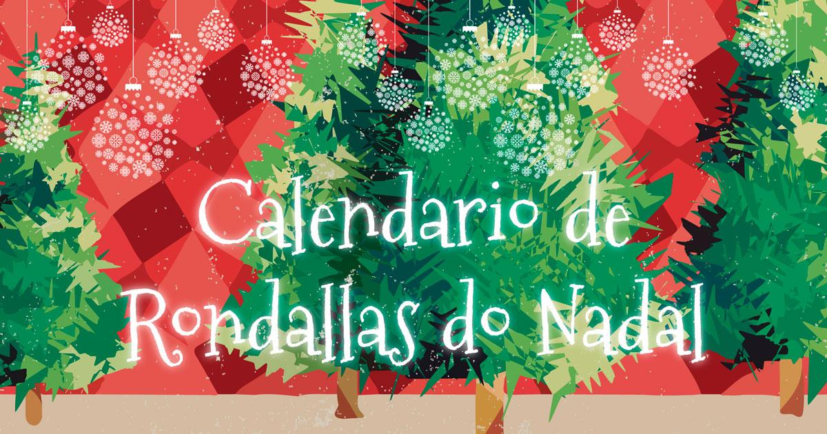 Calendario de Rondallas. nadal 2017 Concello do Porriño