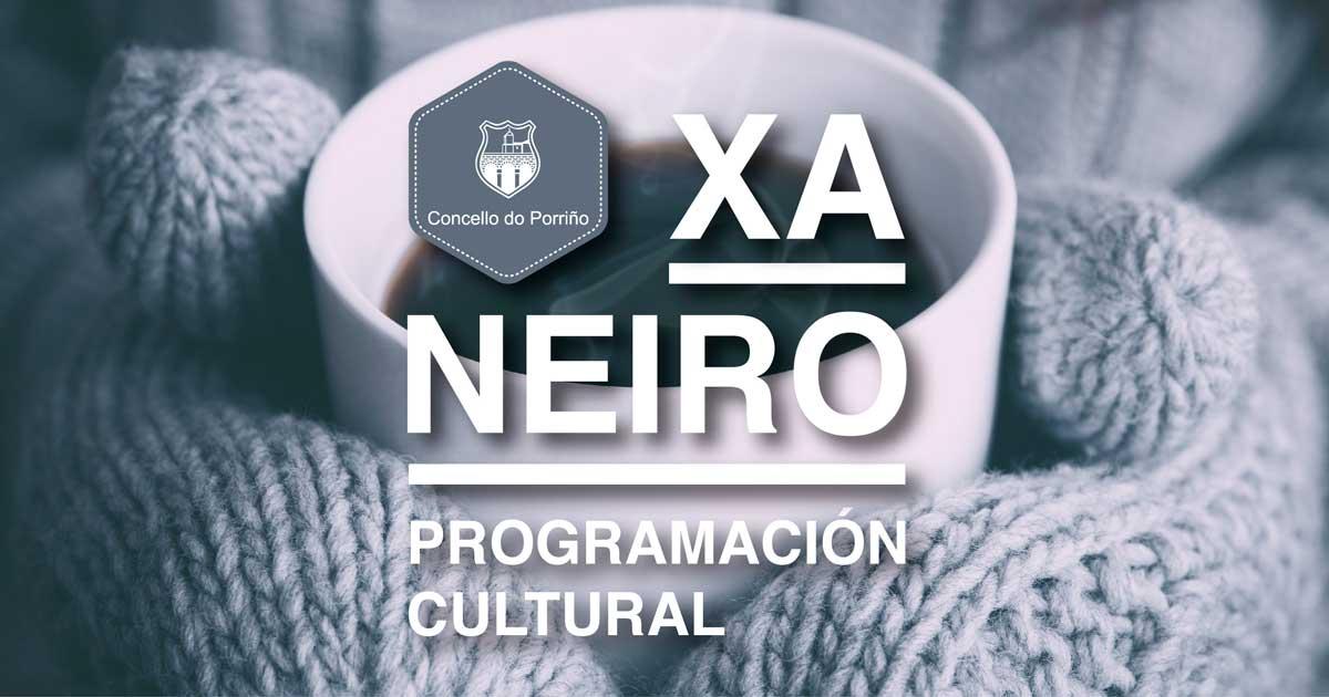 Programación cultural xaneiro 2018. O Porriño