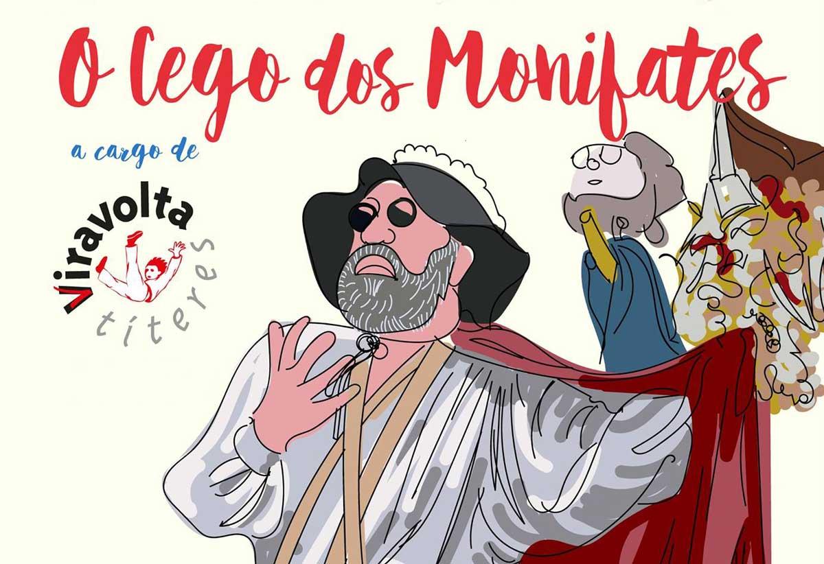O cego dos monifates - Romance de cans