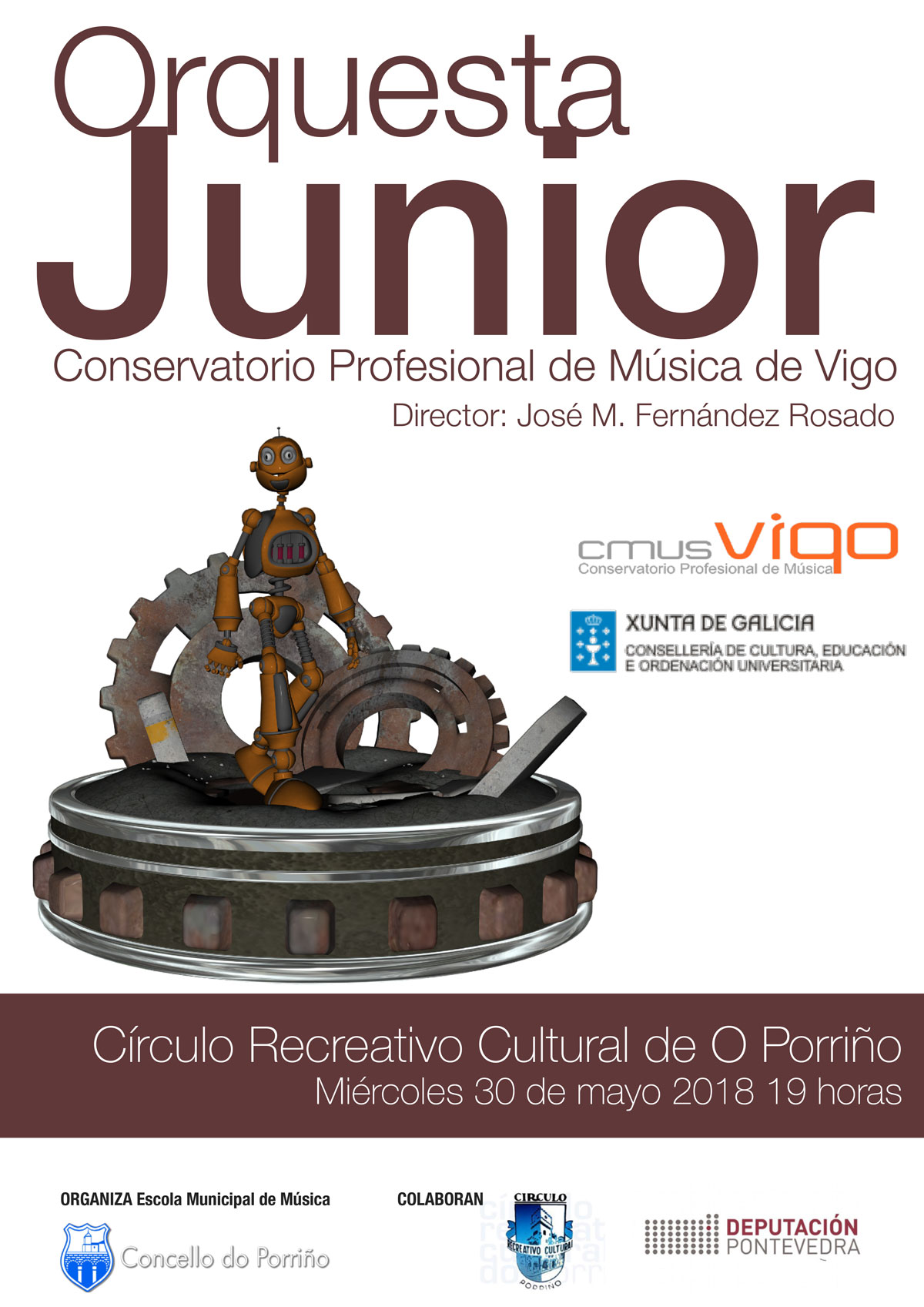 Orquestra Junior do Conservatorio Profesional de Música de Vigo