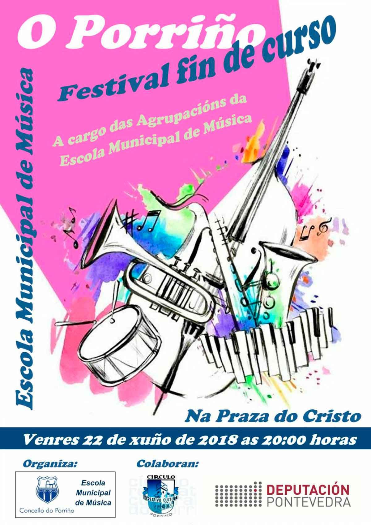 Festival Fin de Curso. Escola Municipal de Música do Porriño