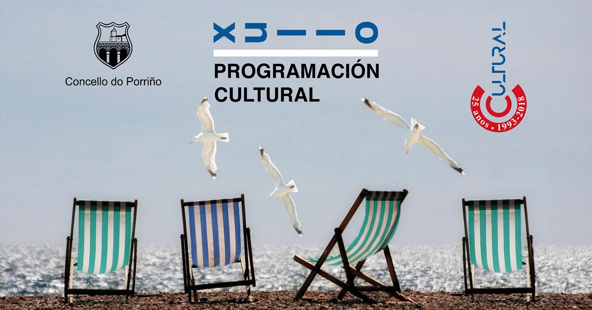 Programación cultural xullo 2018. Concello do Porriño