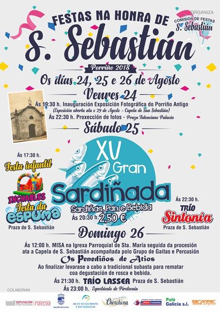 Festas de San Sebastián 2018. Concello do Porriño
