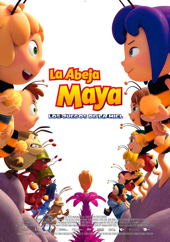 """La abeja Maya: """"Los juegos de la miel"""" poster"""