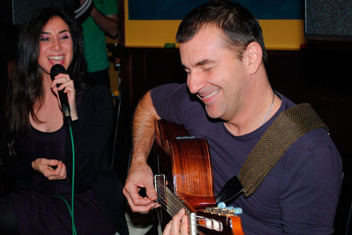 Najla Shami y Sergio Tannus