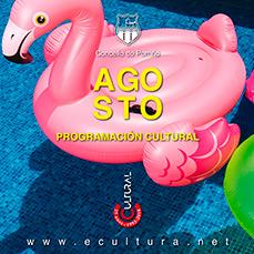Programación cultural agosto 2018. Concello do Porriño