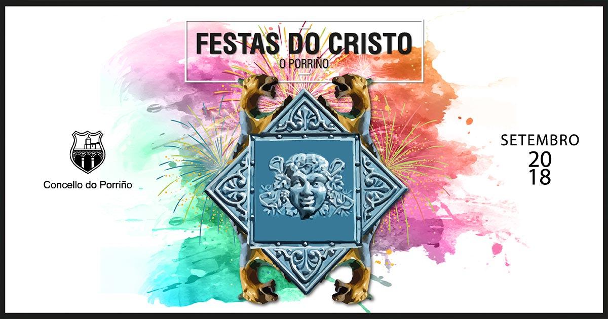 Programación cultural Festas do Cristo 2018. Concello do Porriño