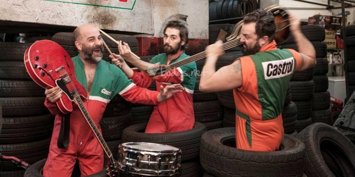 Concerto musical: Los Mecánicos