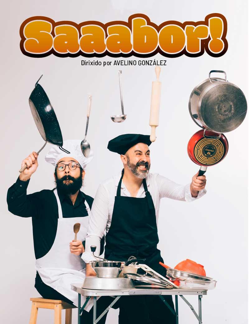 """Saaabor!"", da Cia. Fran Rei e Félix Rodríguez"