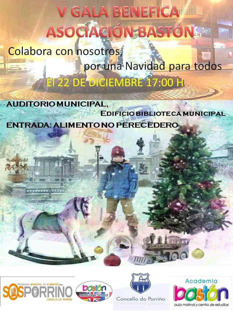 Gala Benéfica de Navidad da Asociación Bastón