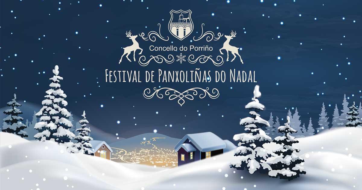 Festival de Panxoliñas do Nadal. Concello do Porriño