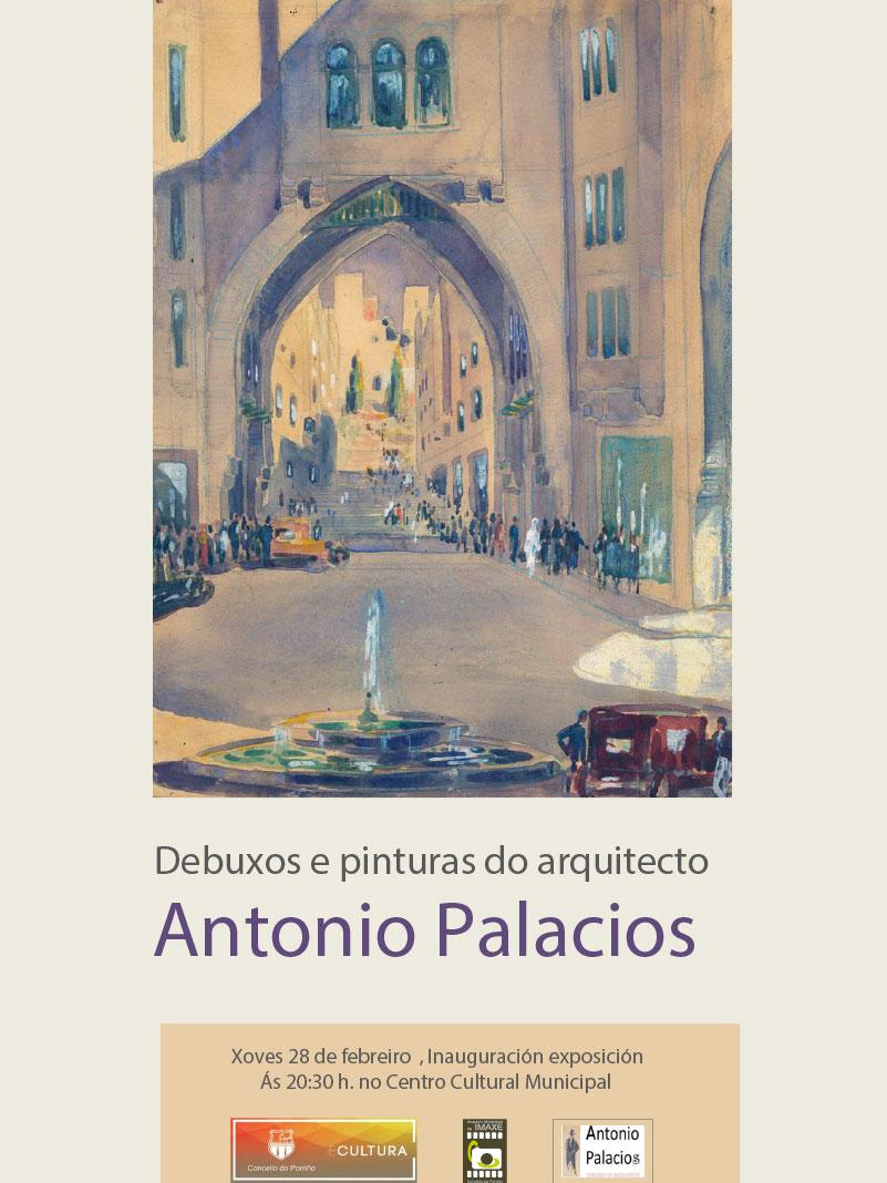"""Exposición: """"Debuxos e pinturas do arquitecto Antonio Palacios"""""""