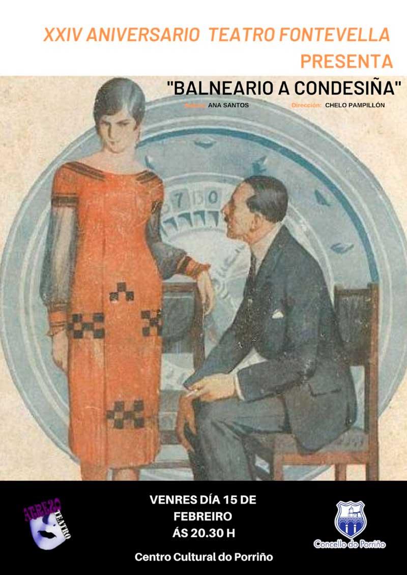 """Teatro: Balneario """"A Condesiña"""""""