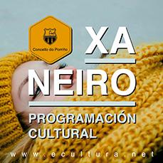 Programación cultural xaneiro 2019. Concello do Porriño