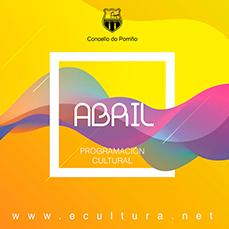 Programación cultural abril 2019. Concello do Porriño