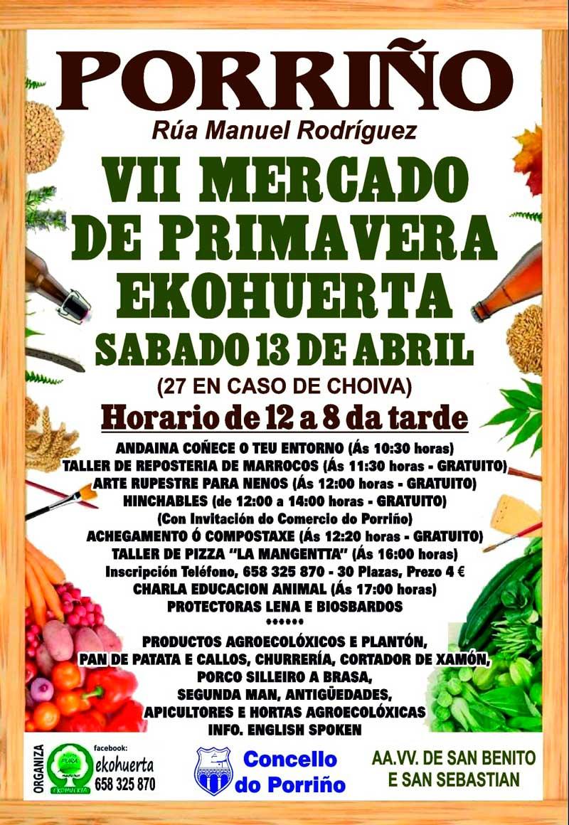 VII Mercado de Primavera Ekohuerta