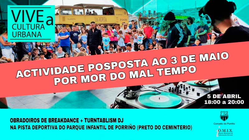 Posposto: Turntablism DJ + Breakdance