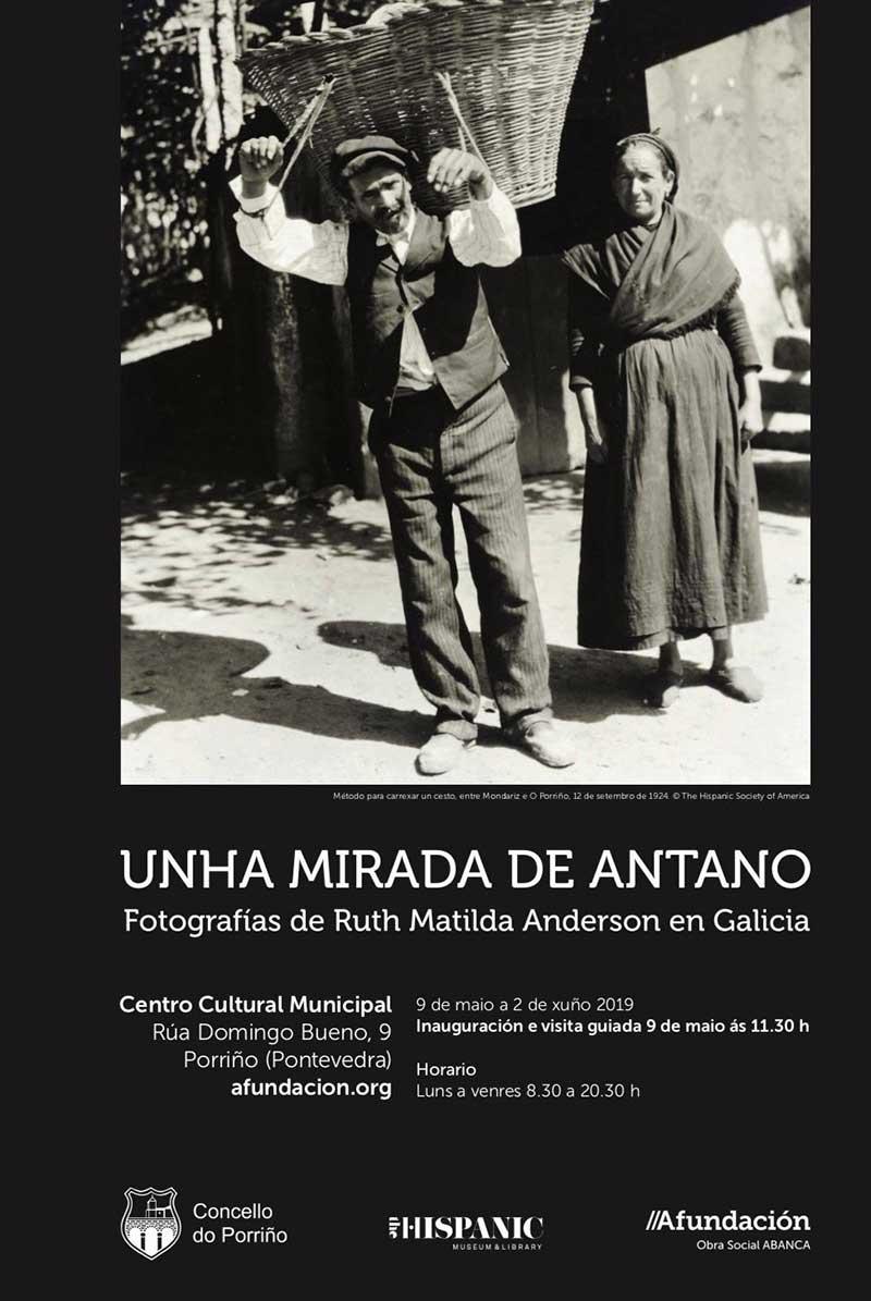 Exposición fotográfica: Unha mirada de antano. Fotografías de Ruth Matilda Anderson en Galicia