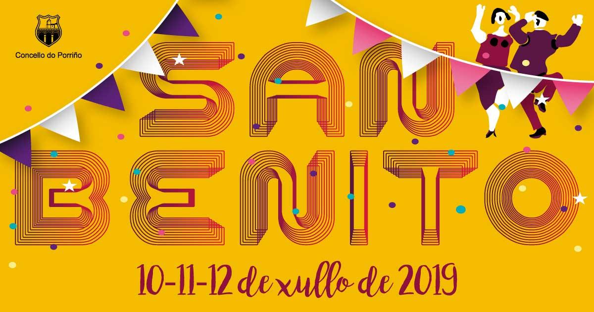 FESTAS DE SAN BENITO 2019. Concello do Porriño
