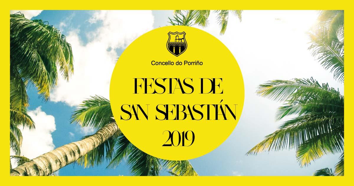 Festas de San Sebastián 2019. Concello do Porriño