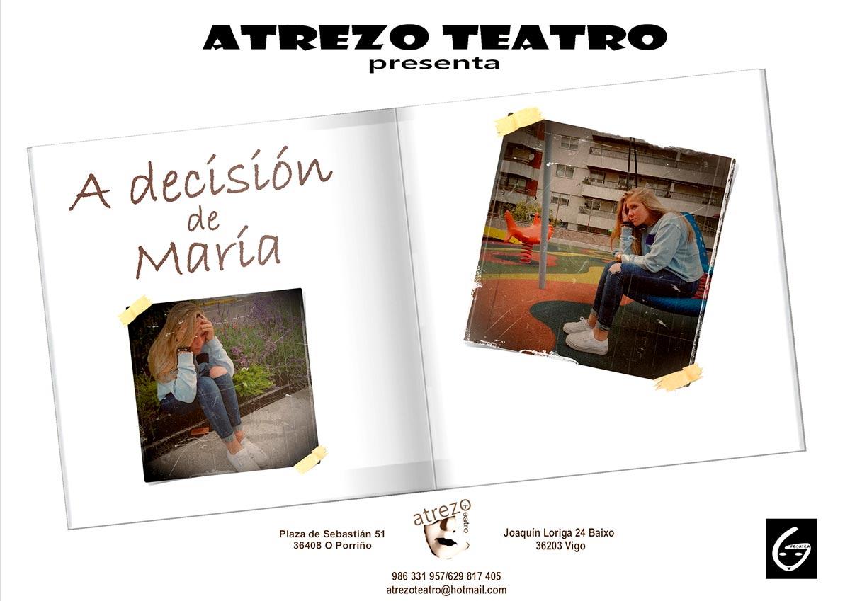 "Teatro para adultos: ""A decisión de María"""