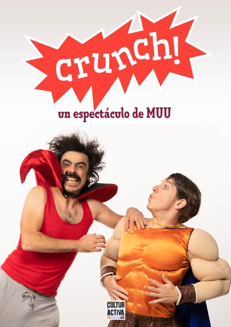 """Teatro infantil: """"Crunch!"""""""