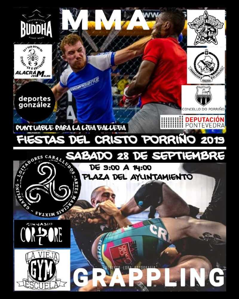 I Competición MMA Grappling
