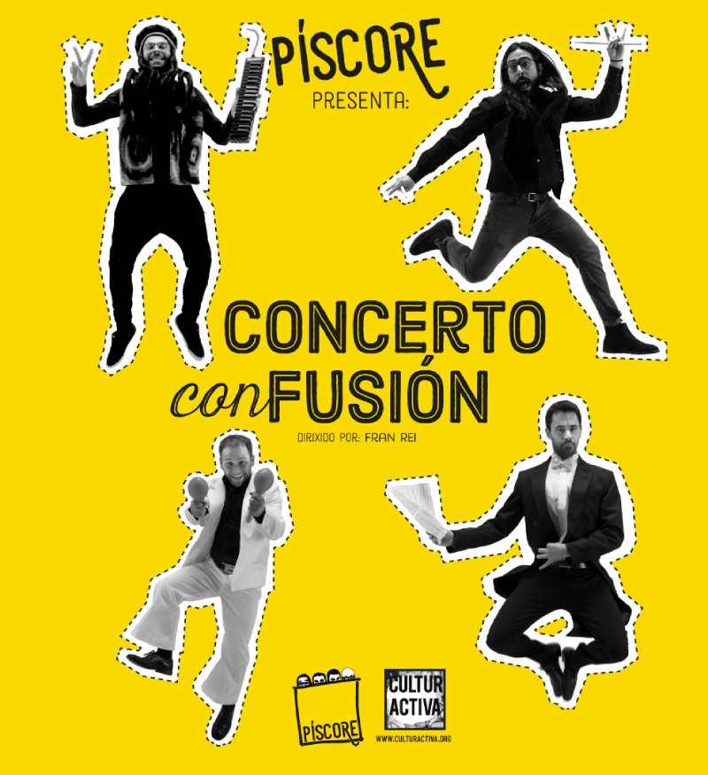 """Concerto infantil: """"Concerto con Fusión"""""""