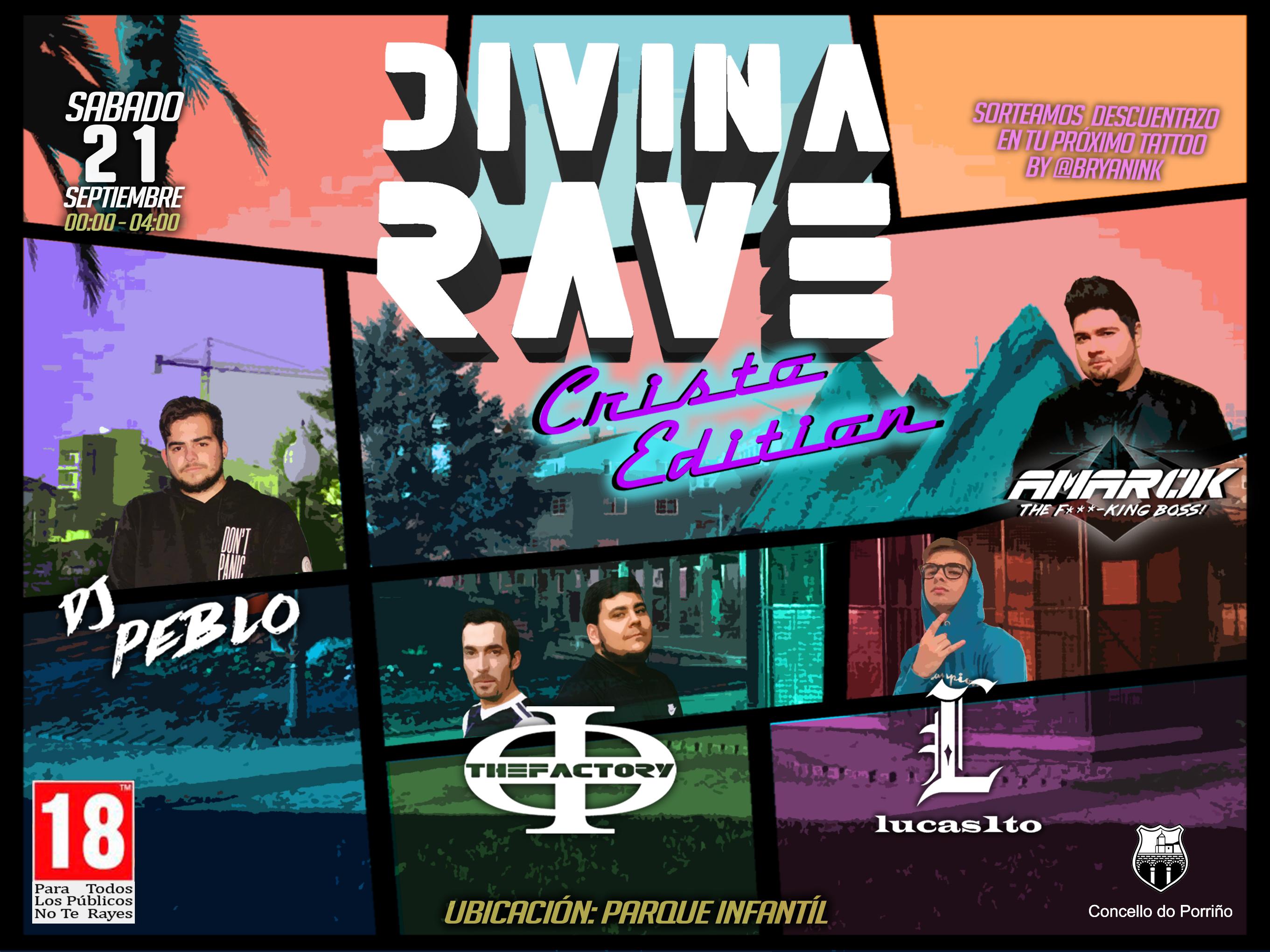 Divina Rave. Cristo Edition