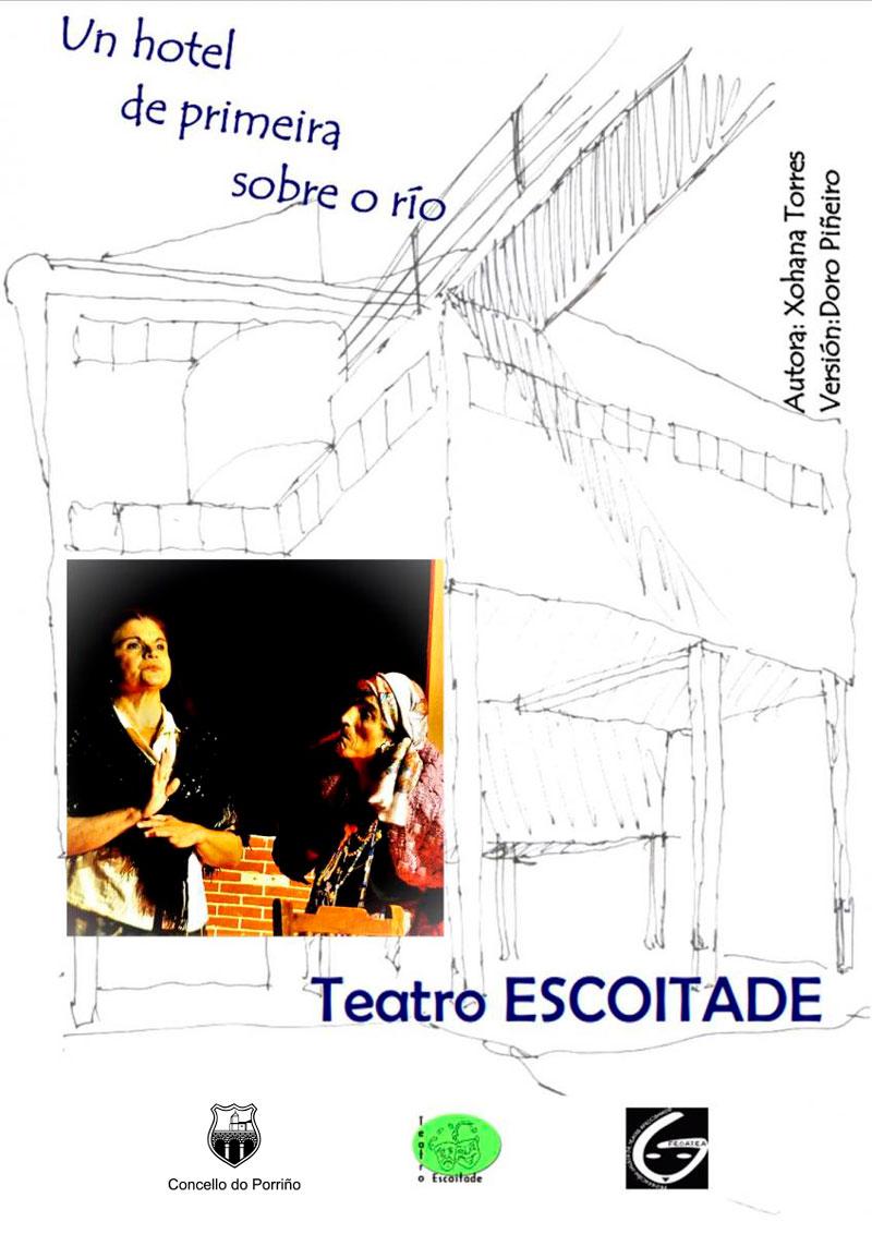"""Teatro para adultos: """"Un hotel de primeira sobre o río"""""""