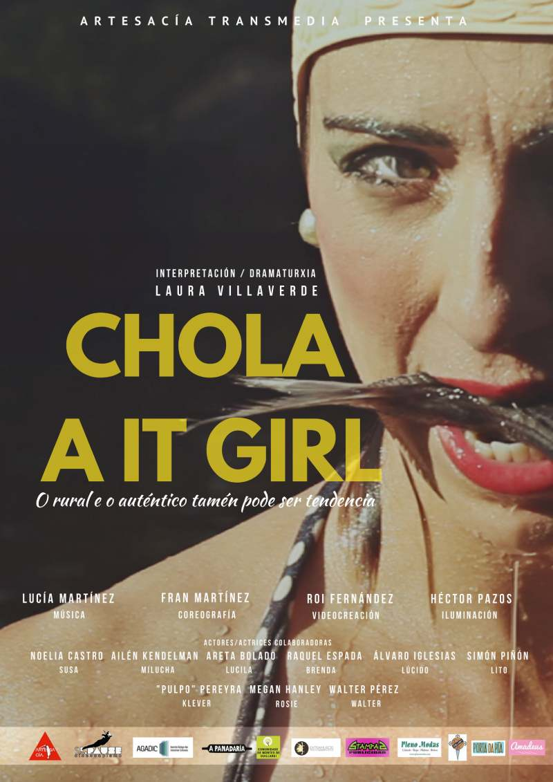 "Teatro adultos: ""Chola a it girl"""