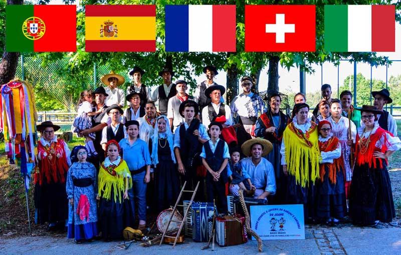 I Festival Internacional de Folclore. Grupo Infantil e Juvenil de Danças e Cantares de Joane (Portugal)