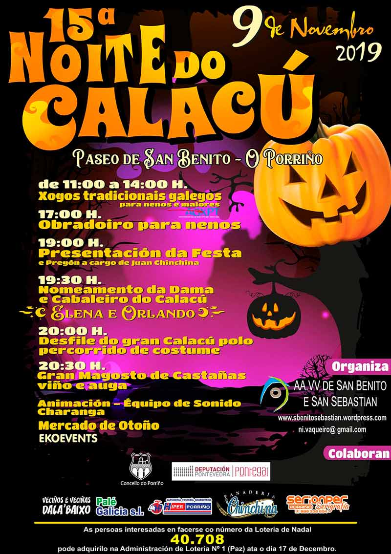 XV Noite do calacú 2019