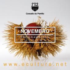 Programación cultural novembro 2019. Concello do Porriño
