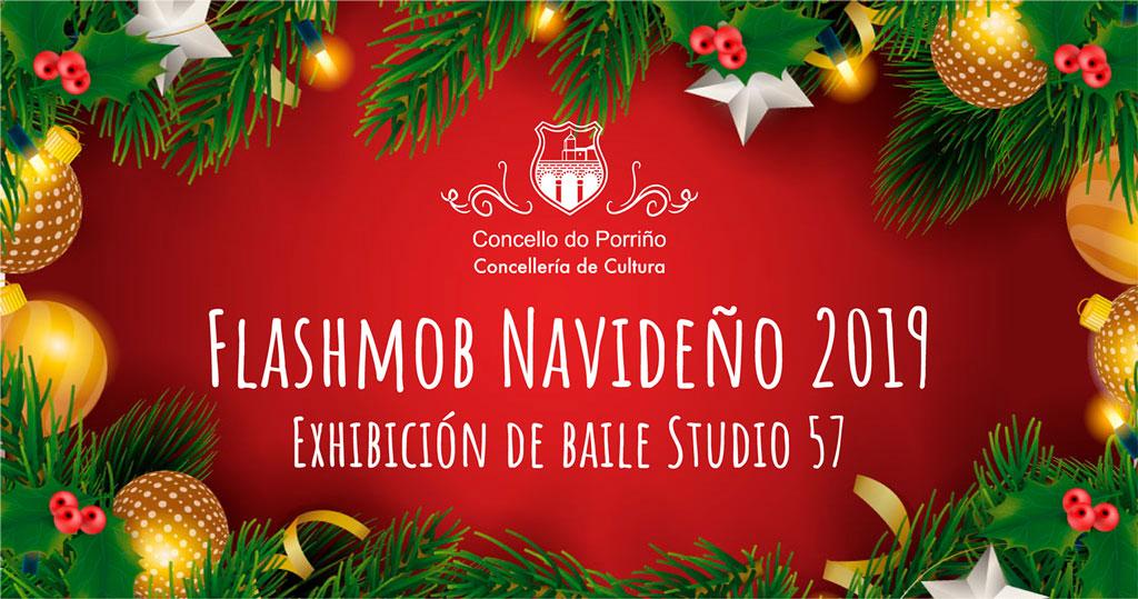Flashmob Navideño 2019. Exhibición de baile Studio 57
